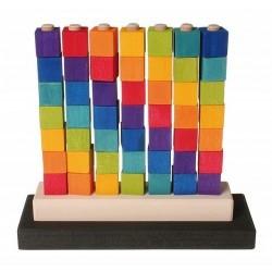 Juego apilable de colores