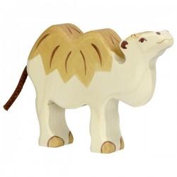 Camello pequeño - Animal de madera