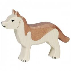 Pastor alemán- Animal de madera