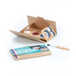 Kit de maquillaje Bio Namaki 3 colores Payaso y Súper Héroe