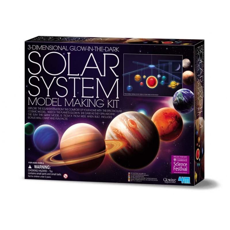 Móvil  3D Solar system
