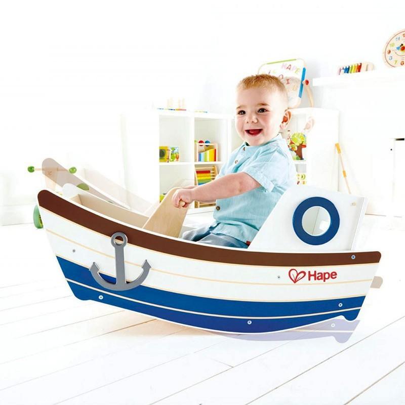Barca balancín