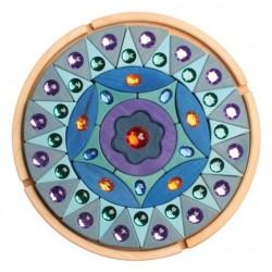 Mandala Océano con diamantes