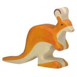 Kanguro pequeño - Animal de madera
