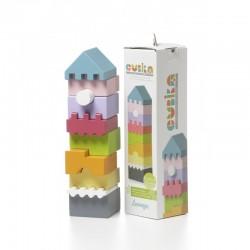 Torre bloques de construcción Cubika