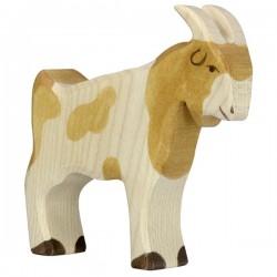 Macho cabrio- Animal de madera