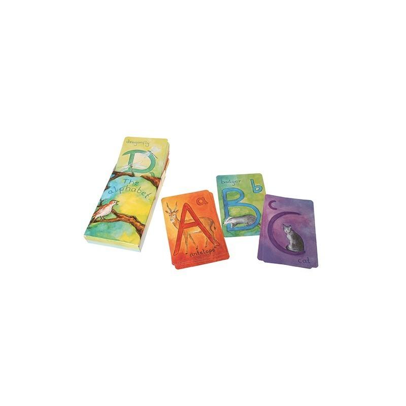 Cartas del alfabeto Waldorf
