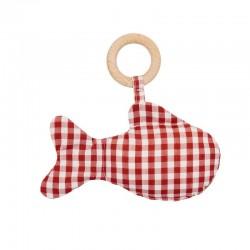 Mordedor- peluche pez Algodón orgánico