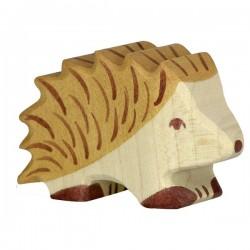 Erizo pequeño- Animal de madera