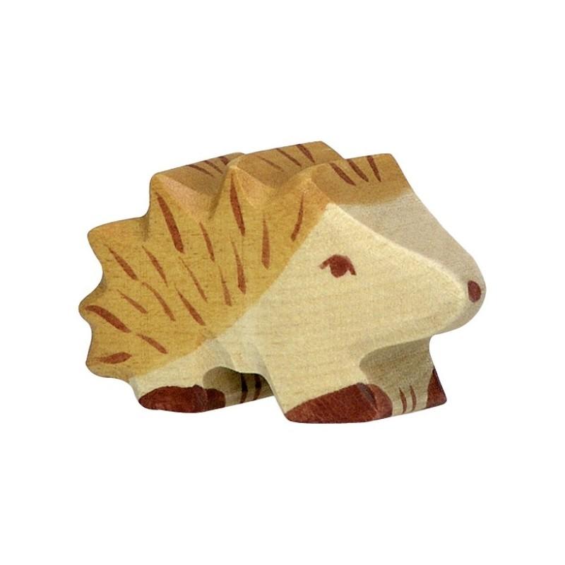 Erizo- Animal de madera