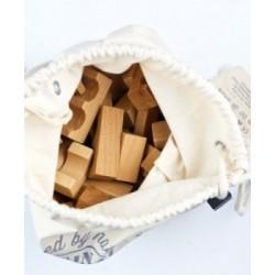 100 bloques naturales en saco