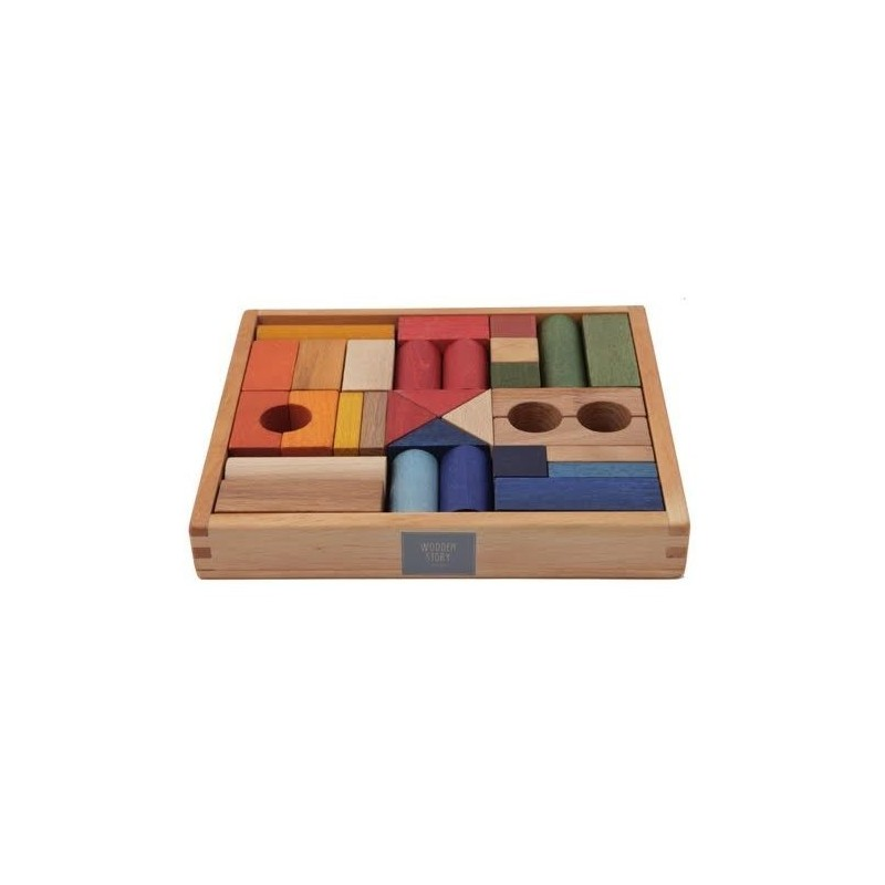 Bloques Rainbow 30 piezas