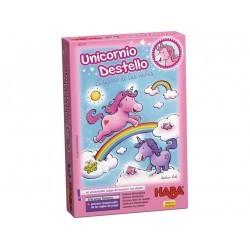 Unicornio destello- El tesoro de la nubes HABA