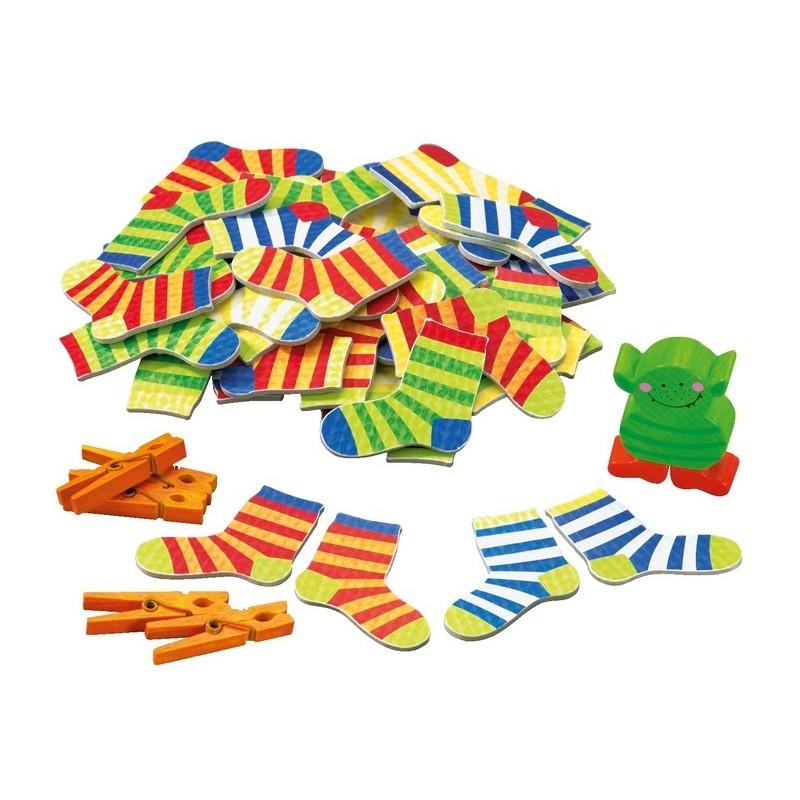 El monstruo de los calcetines HABA