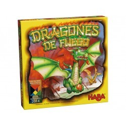 Dragones de fuego ( juego de táctica) HABA