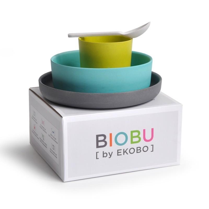 Vajilla infantil de Bambú EKOBO by BIOBU Bambino collection (2)