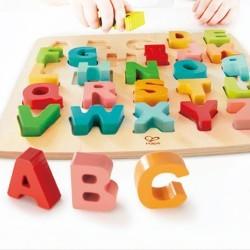 Puzzle alfabeto mayúsculas
