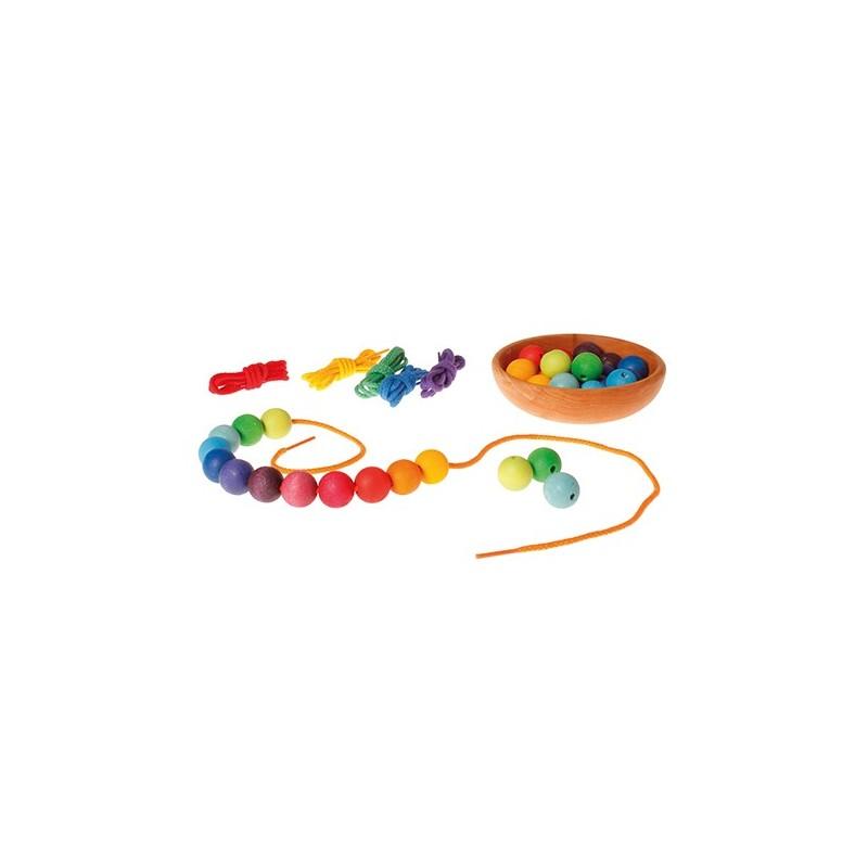 6 Cuerdas Arco Iris de algodón Grimms