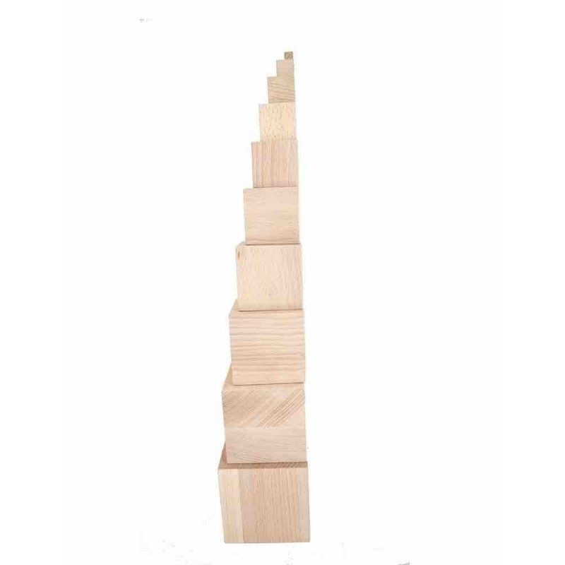 Torre natural Montessori