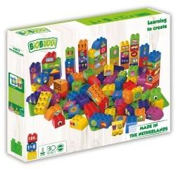 Bloques Arco iris Biobuddi ( 97 piezas+ 3 Bases)