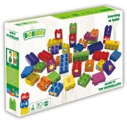 Bloques Multicolor Biobuddi ( 40 piezas)