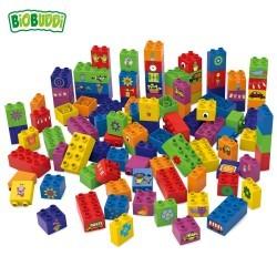 Eco-Bloques Multicolor Biobuddi ( 60 piezas)