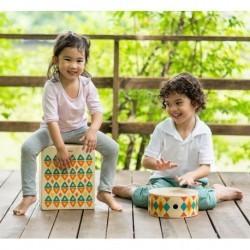 Cajón infantil de percusión Mediano