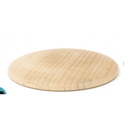 3 Discos de madera natural Grapat