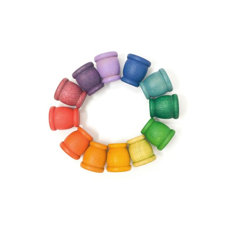 12 Mates Arco iris