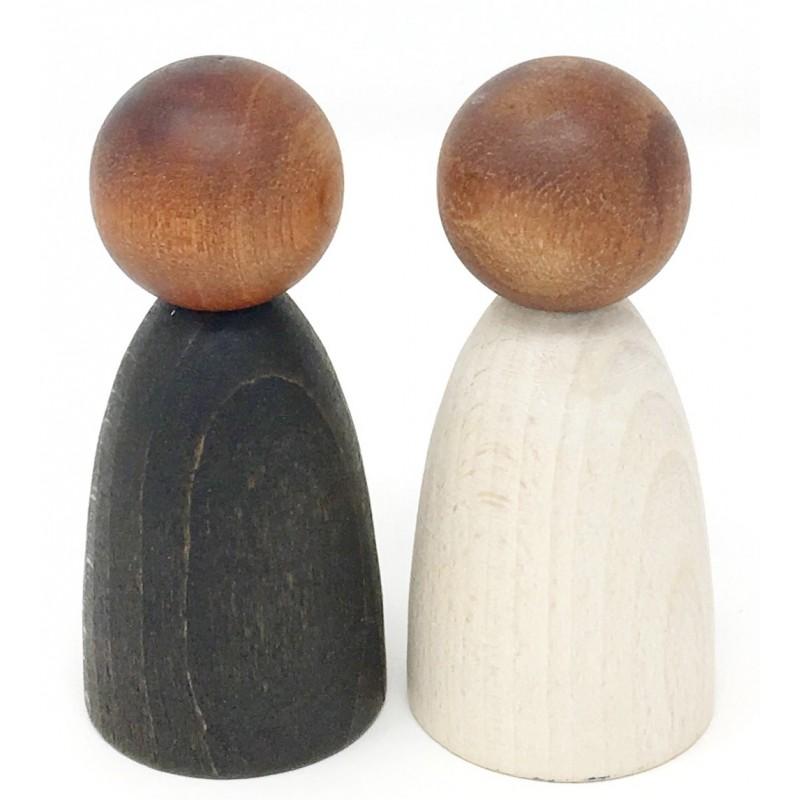 Nins® Adulto (madera oscura) Grapat