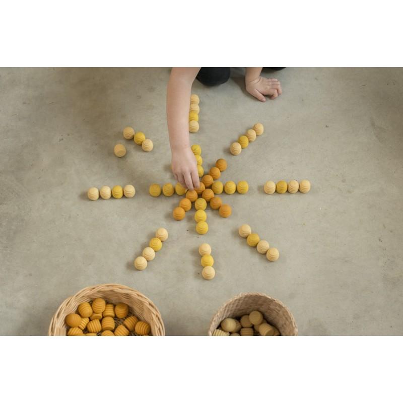 Mandala Panal de abejas (36 Piezas) Grapat