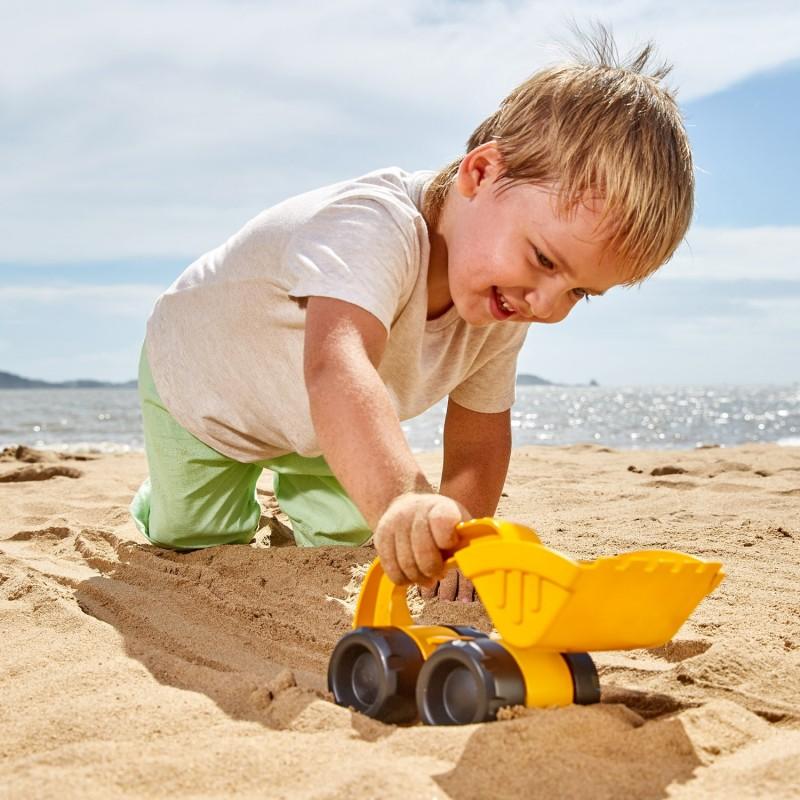 Camión excavadora playa HAPE