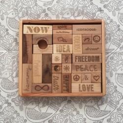 Bloques Peace & Love 29 piezas