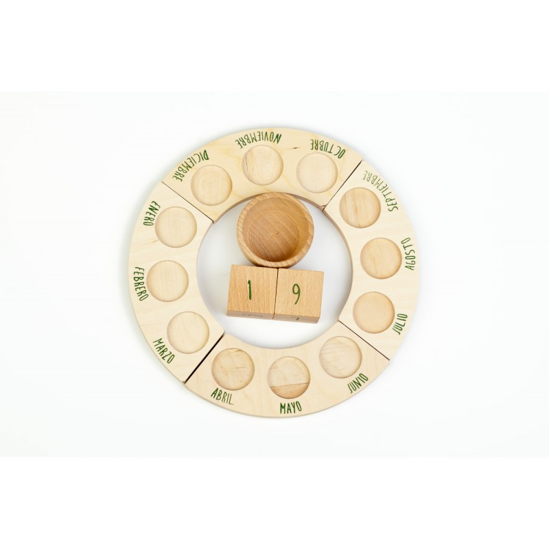 Calendario perpetuo (sin nins®)Grapat