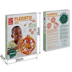 Juego de construcción Flexistick creativo 66 piezas HAPE