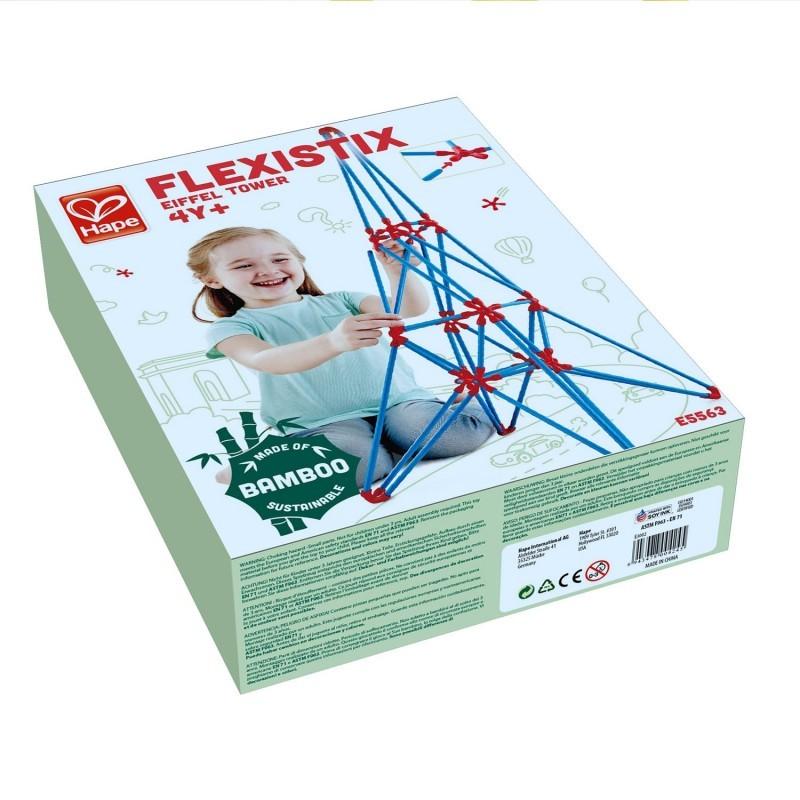 Juego de construcción Flexistick Torre Eiffel HAPE