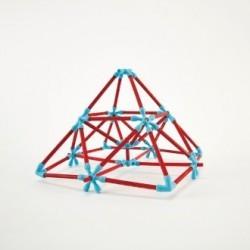 Juego de construcción Flexistick 133 piezas HAPE