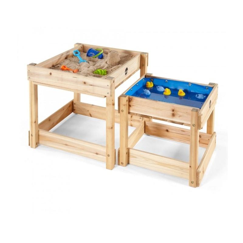 2 mesas nido de experimentación para arena y agua