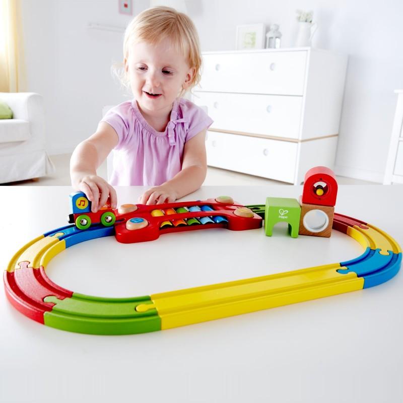 """Circuito de Tren Musical """"los sentidos"""" HAPE"""