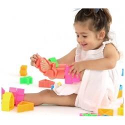 Set 6 muñecos de silicona Dëna KID