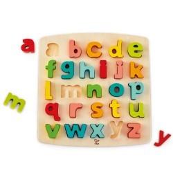 Puzzle alfabeto minúsculas Hape
