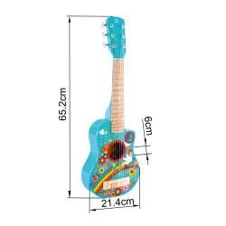 "Guitarra Hippie "" Flower power"" HAPE"