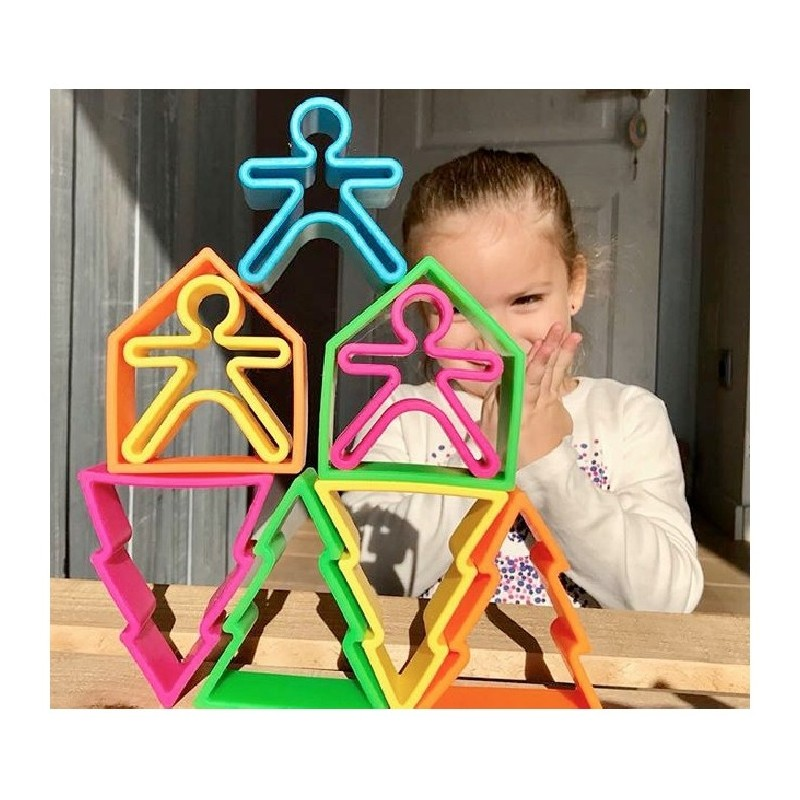 Set 18 piezas Dëna KID&HOUSE&TREES
