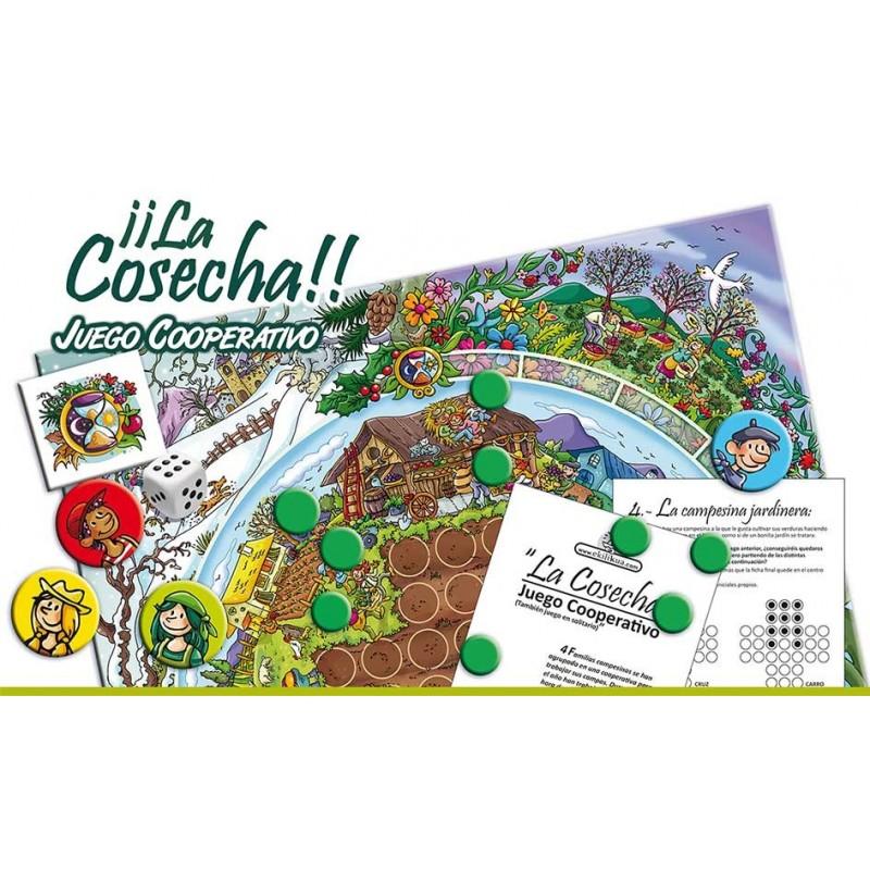 Juego Cooperativo - ¡¡La Cosecha!!